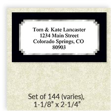 Shop Oversized Address Labels at Colorful Images