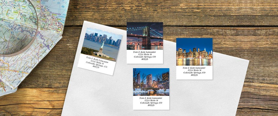 Shop Travel & Vacation Labels at Colorful Images