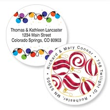 Shop Snowman Labels at Colorful Images