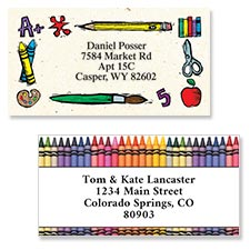 Shop School & Teacher Labels at Colorful Images