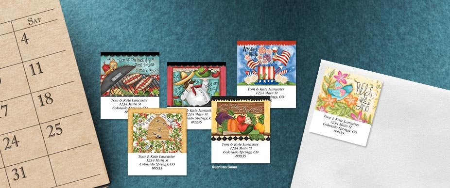 Shop Shop Year Round Labels at Colorful Images