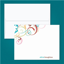 Shop Personsonalized Correspondence Cards at Colorful Images