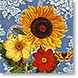 Sunflower Chambray - Design Collections from Colorful Images