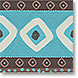 Brown & Turquoise - Design Collections from Colorful Images