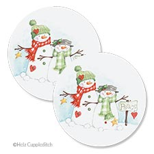 Shop Christmas Envelope Seals at Colorful Images