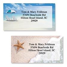 Shop Beach Labels at Colorful Images