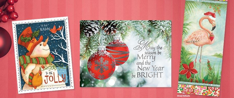 Shop Slimline Christmas Cards at Colorful Images
