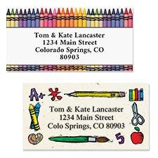 Shop Teacher and School Labels at Colorful Images