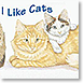 I Like Cats - Design Collections from Colorful Images
