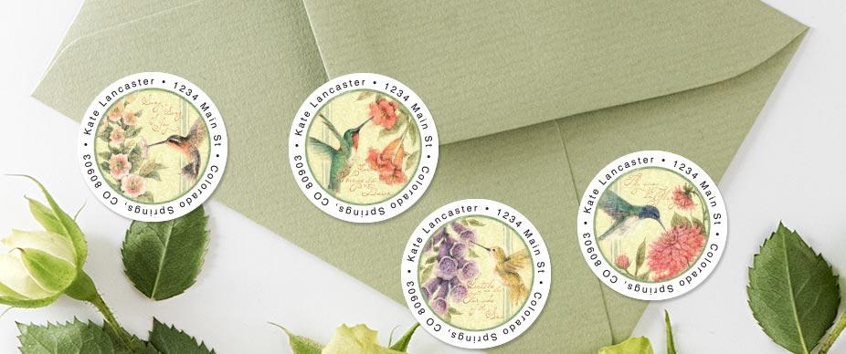 Shop Bird Address Labels at Colorful Images