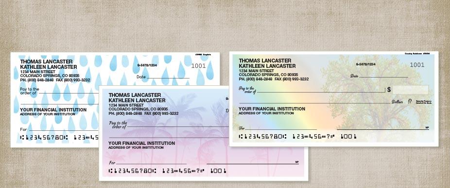 Order personal checks personal check designs colorful for New check designs