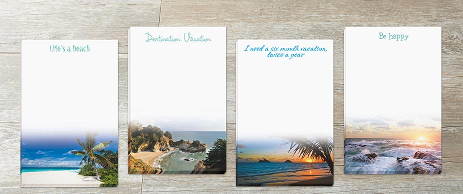 Shop Memo Pads at Colorful Images