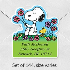 Shop Deluxe Address Labels at Colorful Images