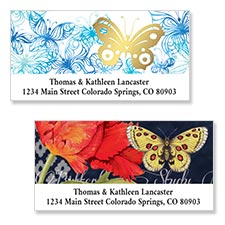 Shop Frogs & Butterflies Labels at Colorful Images
