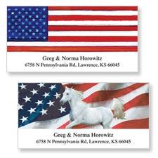 Shop Patriotic Labels at Colorful Images