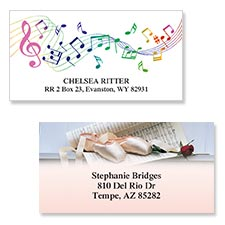 Shop Music & Dance Labels at Colorful Images