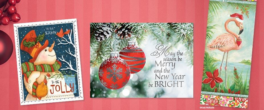Shop Slimline Christmas Cards at Colorful Images