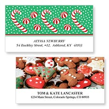 Shop Christmas Candy Labels at Colorful Images