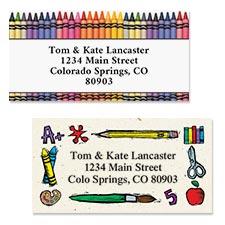 Shop Teacher & School Labels at Colorful Images