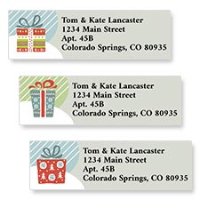 Shop Christmas Presents Labels at Colorful Images