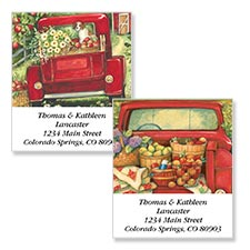 Shop Transportation Labels at Colorful Images
