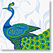 Peacock Luxe - Design Collections from Colorful Images