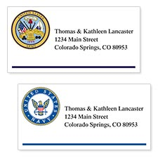 Shop Military Labels at Colorful Images