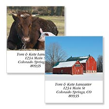Shop Farm Labels at Colorful Images
