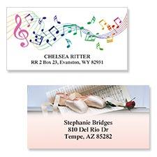Shop Music & Dance Labels at Colorful Images