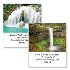 Shop Waterfalls Labels at Colorful Images