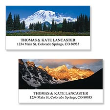 Shop Mountains Labels at Colorful Images